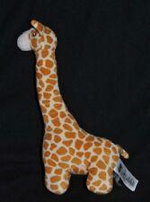 Peluche doudou girafe H&M blanc beige brun yeux brodés 29 cm Etat NEUF