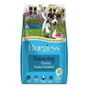 Burgess Puppy Complete 12.5kg   FREE NEXT DAY DPD DELIVERY