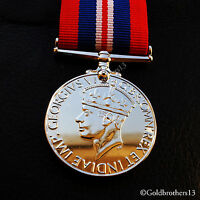 War Medal 1939–1945 Military Campaign Medal - Armed Forces & Merchant Navy Repro