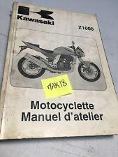Kawasaki Z1000 03/06 A1 A2 A3 A6F revue technique manuel atelier moto Z 1000