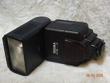 Sigma EF-530 DG st Shoe Mount Flash FOR CANON fully working tested