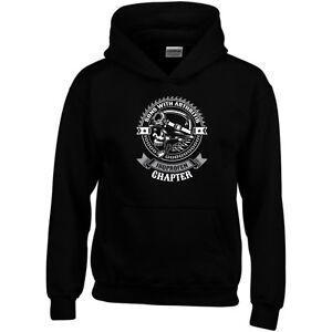 Sons With Arthritis Hoodie Skull Bike Club MC Outlaw SOA Gift Men Sweatshirt Top