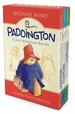 Paddington Classic Adventures Box Set: A Bear Called Paddington, More About Padd