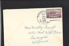 ROOSEVELT, NEW MEXICO COVER,1936, VF+ GILA CO 1904/OP.