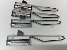4 Stück Sparschäler Metall Kartoffelschäler Schäler Spargelschäler Pendelschäler