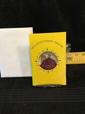 "Vintage John Deere 1991 "" Red Barn ""Sun Catcher - Nip - In Sunshine Through Card"