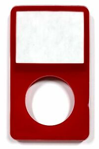 Red Face Plate For Apple iPod Classic 5th Gen 5.5 Front New Video 30GB 60 80
