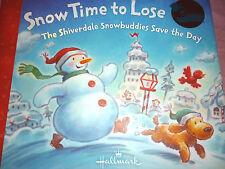 Hallmark Shiverdale Snowbuddies Storybook: Snow Time to Lose  NEW