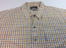 Columbia XCO Men's Short Sleeve Shirt Button Down Short Sleeve Size L Large