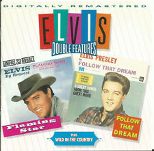 "ELVIS PRESLEY - DOUBLE FEATURES:  ""Flaming Star"" & ""Follow That Dream"""
