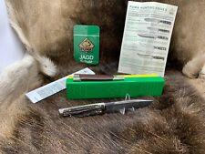 1972 vintage Puma 3573 bayermesser Coltello Coltello con manico cervo Nuovo di zecca in g/y BOX