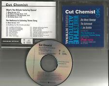 CUT CHEMIST w/ SHE WANTS REVENGE What's the Altitude 3 REMIXES PROMO CD single
