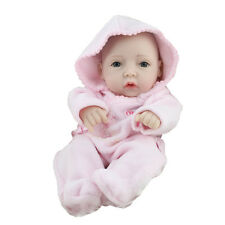11'' Reborn Baby Doll Girl Full Soft Vinyl Newborn Lifelike Baby Dolls Gifts New