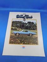 1974 CHEVROLET MONTE CARLO SALES DEALER BROCHURE CAR ADVERTISING