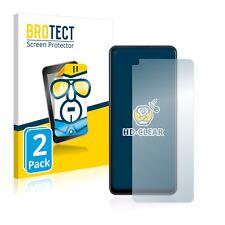 Schutzfolie Transparent für Oppo Reno 6 Z 5G Klar Displayschutzfolie 2x