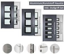 Haustür Kuporta Nebeneingangstür Aluminium mit Kunststoff Wohnungstür Außentür