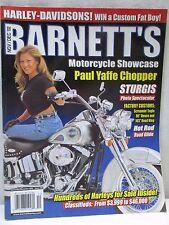 Barnett's Motorcycle Showcase Magazine Harley Davidson Paul Yaffe Chopper