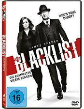 The Blacklist Staffel 4 NEU OVP 6 DVDs
