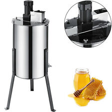 Electric 2/4 Frame 304 Stainless Steel Honey Extractor With Stand Beekeeping NEW