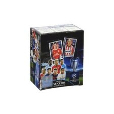 2015-16 CHAMPIONS LEAGUE STICKERS SEALED 50 PACK BOX 5 STICKERS PER PACK