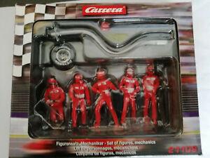 Figuren Mechaniker Crew Carrera Digital Evolution Exclusiv Pro x Universal Profi