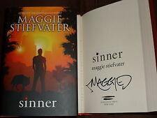 Maggie Stiefvater signed Sinner 1st printing hardcover book