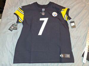 BEN ROETHLISBERGER 7 Steelers Nike Vapor Untouchable Elite Football Jersey sz 52