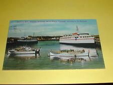 "American Motor Ferry ""Chinook""  Victoria B.C. Postcard Canada 1950"