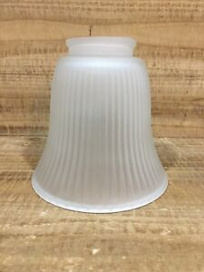 """Westinghouse 8106600 2-1/4"""" Frosted Ribbed Shade"""