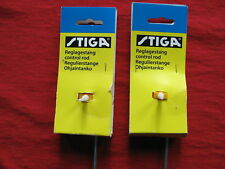 2 STIGA TABLE HOCKEY GAME RIGHT WING RODS SET !!!!!BRAND NEW!!!!