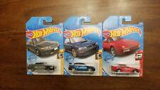 Hot Wheels 2020 B Case, Subaru Impreza 22b STi, Skyline GT-R, Porsche 944 Turbo