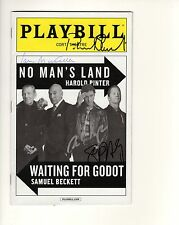 PATRICK STEWART+IAN MCKELLEN HAND SIGNED NYC PLAYBILL    WAITING FOR GODOT   JSA