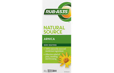 Rub A535 Natural Arnica Gel-Cream for Muscle, Joint Pain & Inflammation 65g