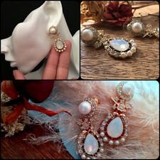 Unusual gifts for her womens presents Christmas Mother Milky Opal crystal Ivory
