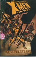 **UNCANNY X-MEN-THE NEW AGE: CRUELEST CUT TPB GRAPHIC NOVEL**(2005, MARVEL)**VF