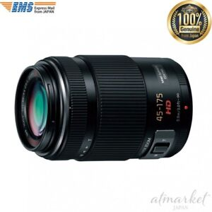 Panasonic H-PS45175-K Camera lens Lumix GX VARIO PZ 45-175mm/F4.0-5.6ASPH. JAPAN