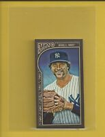Goose Gossage 2015 Topps Gypsy Queen Mini Card # 118 New York Yankees Baseball