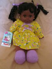 New Vintage Simba My Love La Poupee Doll 501 3487 African American~Closing Eyes