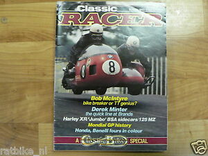 CLASSIC RACER 1983 SUMMER ISSUE 2 ??,MCINTRYE,MINTER,MONDIAL