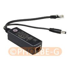 Gigabit Active Poe Splitter Power Over Ethernet 48v to 12v 10/100/1000mbps
