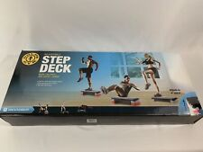 Gold's Gym Adjustable Step Deck Burn Calories And Boost Cardio. Core Flexibility