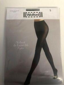 Wolford Velvet De Luxe 66 Tights in Black