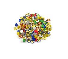 400pc disegno PIN Pack ~ Di Alta Qualità ~ BRASS FLAT HEAD Thumb TacK PUSH mappa preavviso