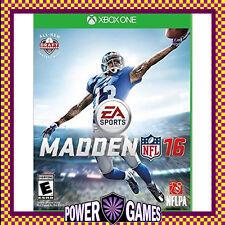 Madden NFL 16 (Microsoft Xbox One) Brand New