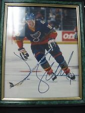 NHL #10 JIM CAMPBELL AUTOGRAPHED PICTURE