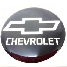 Black silver resin wheel center caps for Chevrolet 45 mm decal emblem stickers
