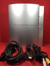 Used PLAYSTATION 3 (80GB) satin silver PS3 SONY EMS F/S Japan game