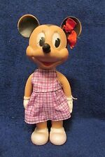 Vintage Rare/Hard to Find Walt Disney/Viceroy Minnie Mouse Rubber Squeak Toy