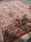 Antique Karastan rug 717 Multicolor Panel kirman 12X18