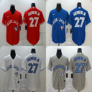 NWT TORONTO BLUE JAYS 27 Vladimir Guerrero Jr. Series Authentic Stitched Jersey